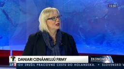 HOSŤ V ŠTÚDIU: A. O. Oravcová o indexe daňovej spoľahlivosti