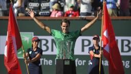 Federer potvrdil skvelú formu, ovládol turnaj v Indian Wells