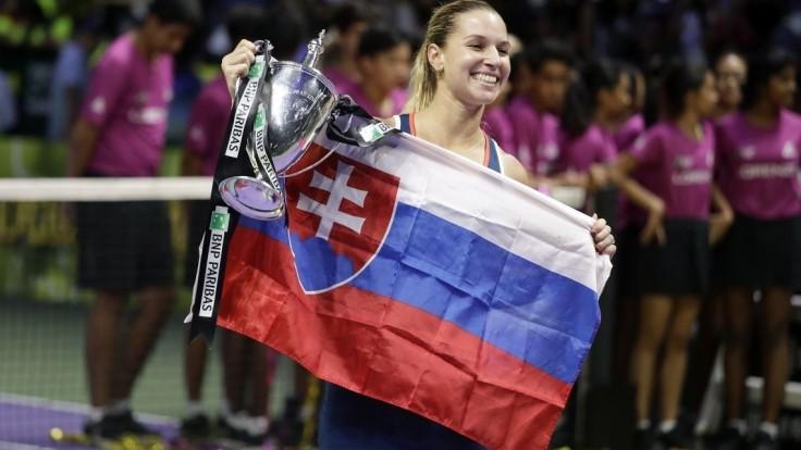 Cibulková vyrovnala maximum Mečířa, lepšie sú len tri tenistky