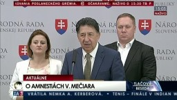 TB opozičných poslancov po rokovaní poslaneckého grémia o amnestiách