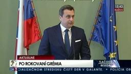 TB A. Danka o vymenovaní ústavných sudcov a výsledku poslaneckého grémia