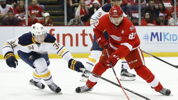 NHL: Tatar opäť skóroval, no Detroitu to nestačilo
