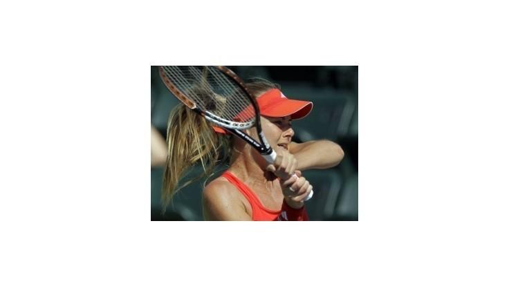 Hantuchová postúpila do 3. kola dvojhry v Miami, čaká ju Ivanovičová