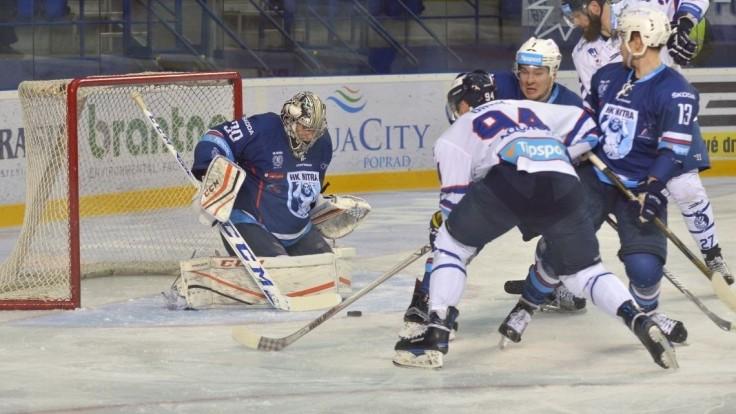 Nitra ovládla sériu s Popradom a stala sa prvým semifinalistom