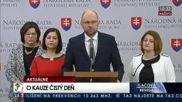 TB predstaviteľov SaS a OĽaNO-NOVA o údajnom podvode v kauze Čistý deň