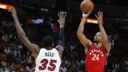 Toronto zdolalo Miami, v zápase výrazne bodoval DeRozan