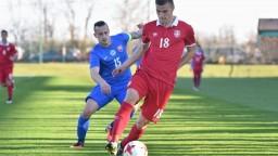Hapalov tím preverili v prípravnom stretnutí v Senci mladí Srbi