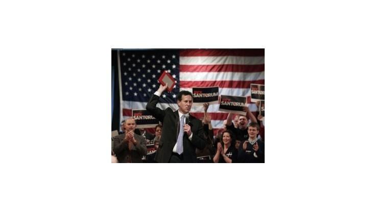 V Louisiane triumfoval Rick Santorum