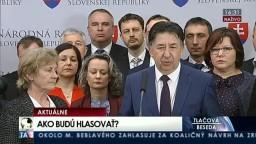 TB poslancov hnutia OĽaNO a A. Remiášovej k hlasovaniu o zrušení amnestií V. Mečiara