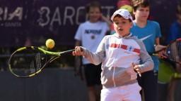 Na deti čakal bohatý tenisový program. Zahrali si so Svitolinovou