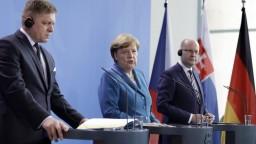 Fico a Sobotka sa stretli s Merkelovou, zhodli sa na podpore priemyslu