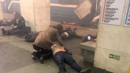 Fotogaléria: Petrohrad sa spamätáva zo smrtiacej explózie v metre