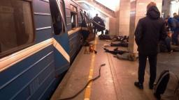 Výbuch v petrohradskom metre má 14 obetí, z útoku podozrievajú Aziata