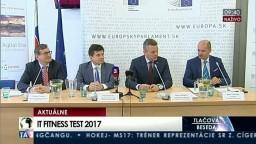 TB P. Pellegriniho, P. Plavčana a D. Chreneka pri príležitosti IT testovania Slovákov