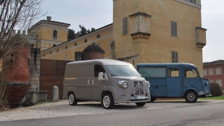 Legendárny Citroën Typ H sa vracia v modernej podobe