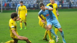Slovan vykročil úspešne do semifinále Slovnaft Cupu, porazil Michalovce