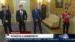 TB koalície o amnestiách Vladimíra Mečiara
