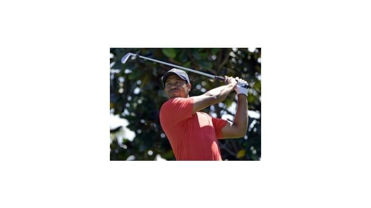 Tiger Woods je na čele turnaja PGA