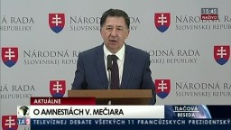 TB J. Budaja o amnestiách Vladimíra Mečiara