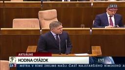 Hodina otázok v Národnej rade Slovenskej republiky