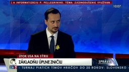 HOSŤ V ŠTÚDIU: V. Lichvár o vojenskom konflikte v Sýrii