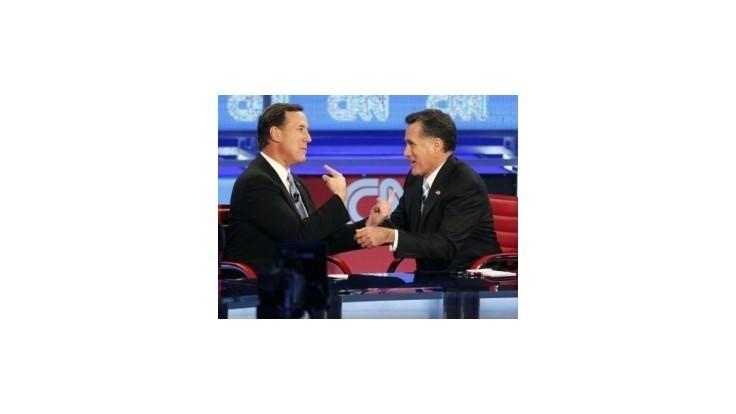 Santorum označil Romneyho za najhoršieho republikána v krajine