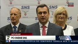 TB Slovenskej národnej strany po slávnostnom sneme