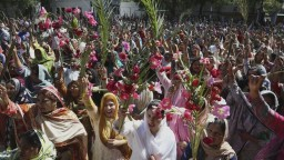 Kresťania slávili Kvetnú nedeľu. Pozrite si, ako to vyzeralo vo svete