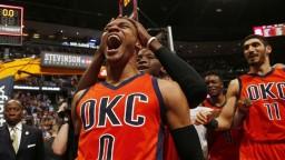 Westbrook dosiahol rekordné triple double a vyradil Denver z boja