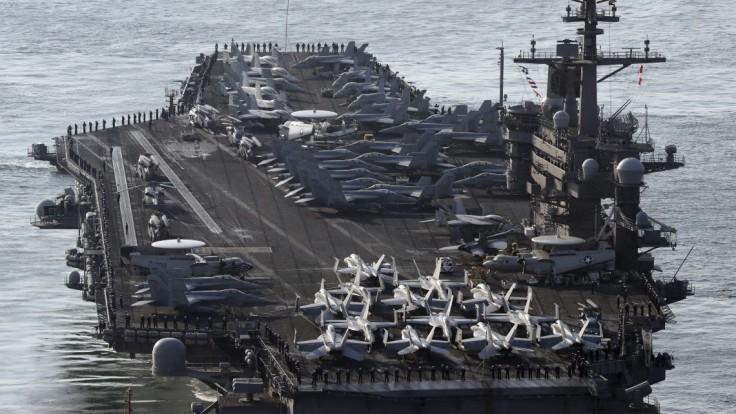Ku Kórei zamierila útočná skupina amerického námorníctva
