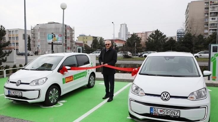 BILLA ide ekologickou cestou. Spúšťa nabíjacie elektrostanice pre elektromobily