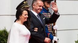 Prezident Kiska bude otcom, jeho manželka čaká tretie dieťa
