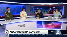 Alexandrovci boli v TA3, rozprávali o tragédii aj o vystúpení na Slovensku