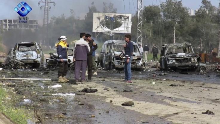 Po útoku na civilistov pri Aleppe pribúda obetí, hlásia vyše sto mŕtvych