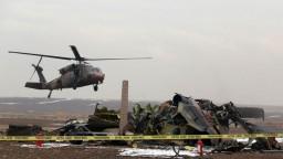Zrútil sa turecký vrtuľník so sudcami a policajtmi na palube