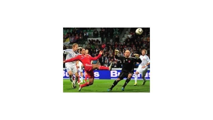 Futbalisti Slovenska prehrali s Ruskom 0:1 a stratili šancu na postup na ME 2012