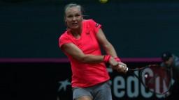 Slovenské tenistky hrajú s Holandskom po prvom dni nerozhodne