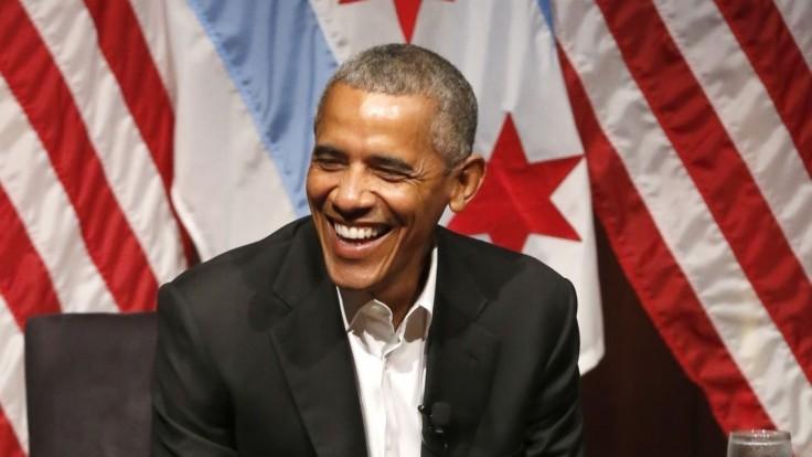 Obama prvýkrát od skončenia funkcie vystúpil na verejnosti