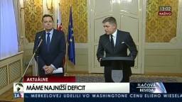 TB predsedu vlády R. Fica a P. Kažimíra o ekonomických výsledkoch