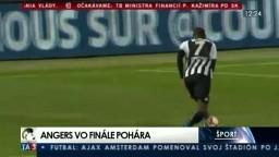 Futbalisti Angers postúpili do finále Francúzskeho pohára