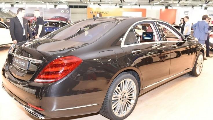 V Bratislave debutuje modernizovaný Mercedes S-triedy