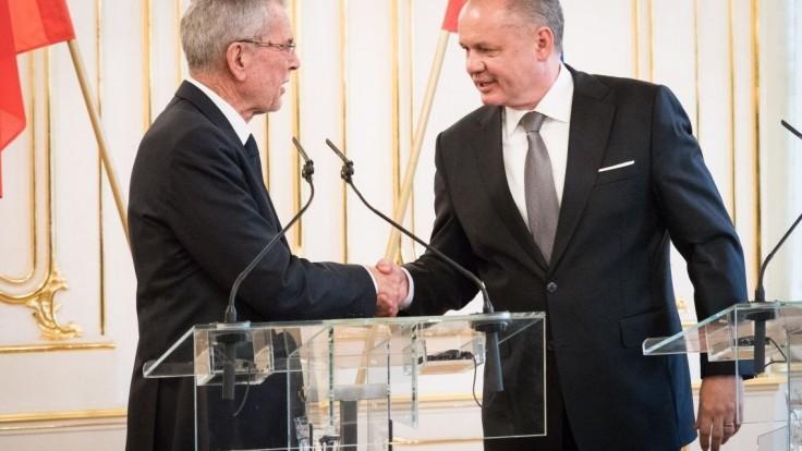 Kiska s rakúskym prezidentom diskutovali o problémoch Európskej únie