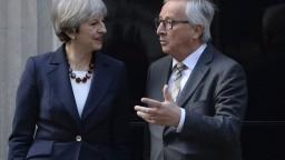 Mayová prijala Junckera, vyjasňovali si okolnosti Brexitu