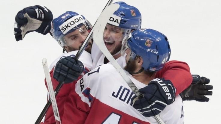 Českí hokejisti si pripísali do tabuľky B-skupiny prvé tri body