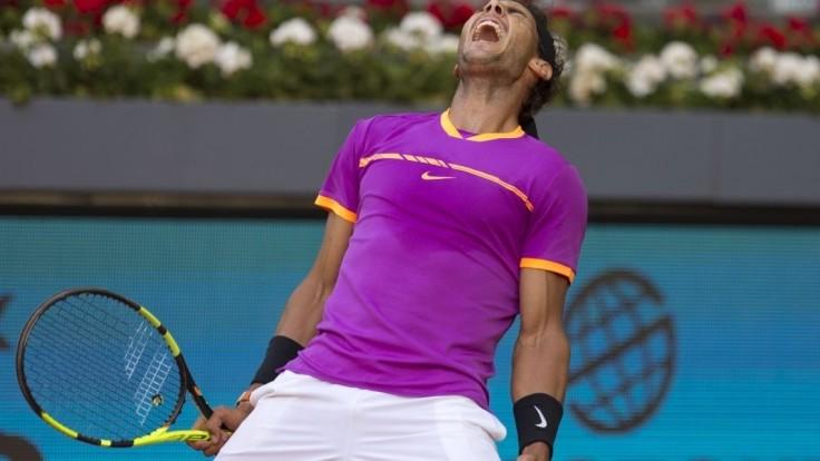 Nadal v prvom kole turnaja ATP v Madride zdolal Fogniniho