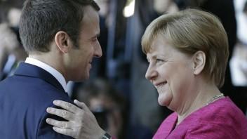 Merkelová a Macron chcú veľmi úzko spolupracovať, chystajú plán
