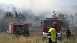 Chorvátsko sužujú požiare, situáciu sťažuje vietor