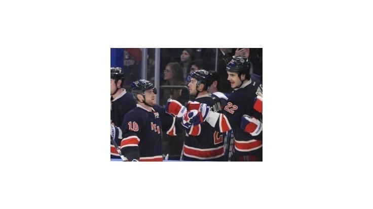NHL: Gól Gáboríka pomohol Rangers vstúpiť do play-off víťazne