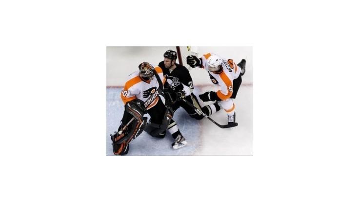 Flyers vedú po prestrelke už 2:0, Kings druhýkrát šokovali Canucks