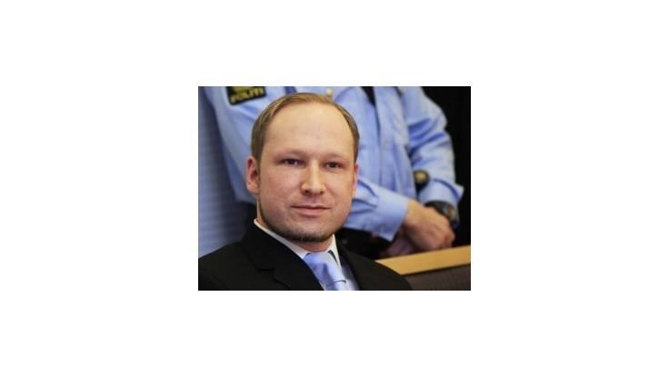 Proces s Breivikom je v krajine najväčším súdnym konaním od vojny